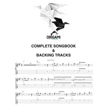Origami Complete songbook + Backing tracks