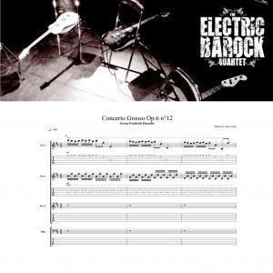 Score – Haendel – Concerto Grosso Op.6 n°12 (tabs & notation)