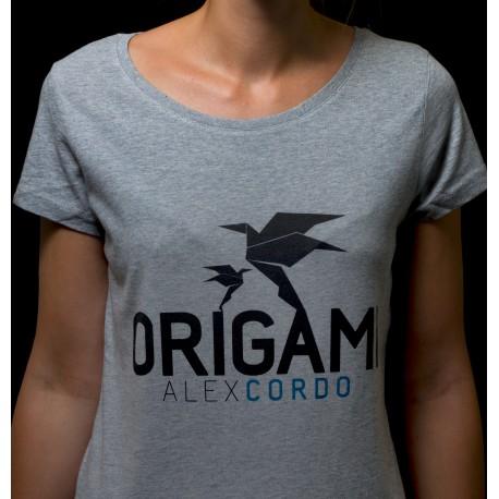 T-shirt femme Origami