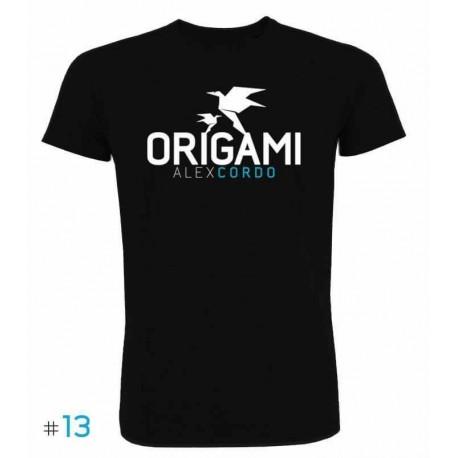 T-shirt Origami Black